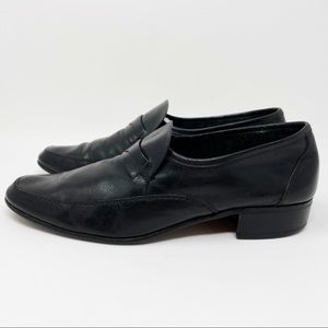 Vintage Christian Dior Leather Loafers
